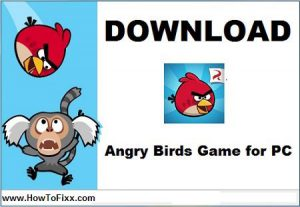 Download Angry Birds Game for PC