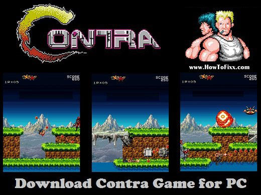 Download Contra Game for PC