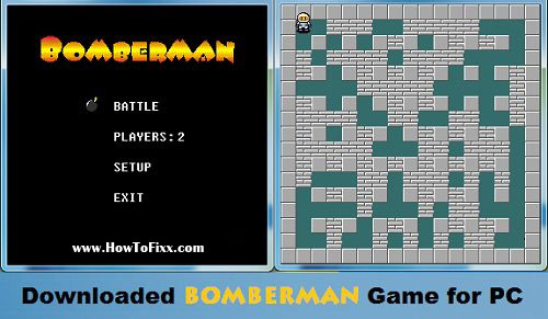 Download Bomberman Game for PC