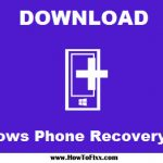 download Windows Phone Recovery Tool
