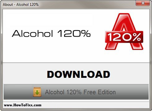 Download Alcohol 120% Software