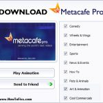 Download Metacafe Pro