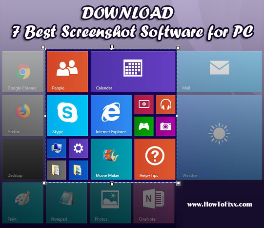 Download 7 Best Free Screenshot Software For Windows Pc Howtofixx