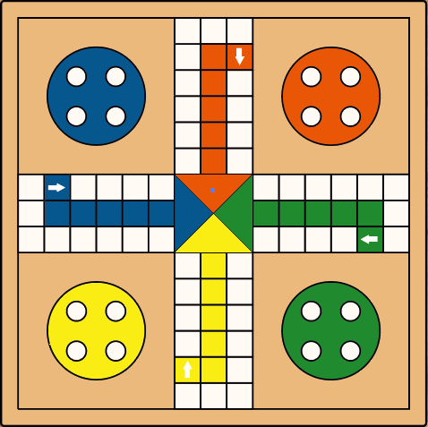 Ludo Game Board Templates