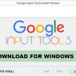 Google Input Tools for Windows