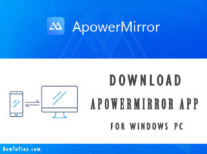ApowerMirror for PC